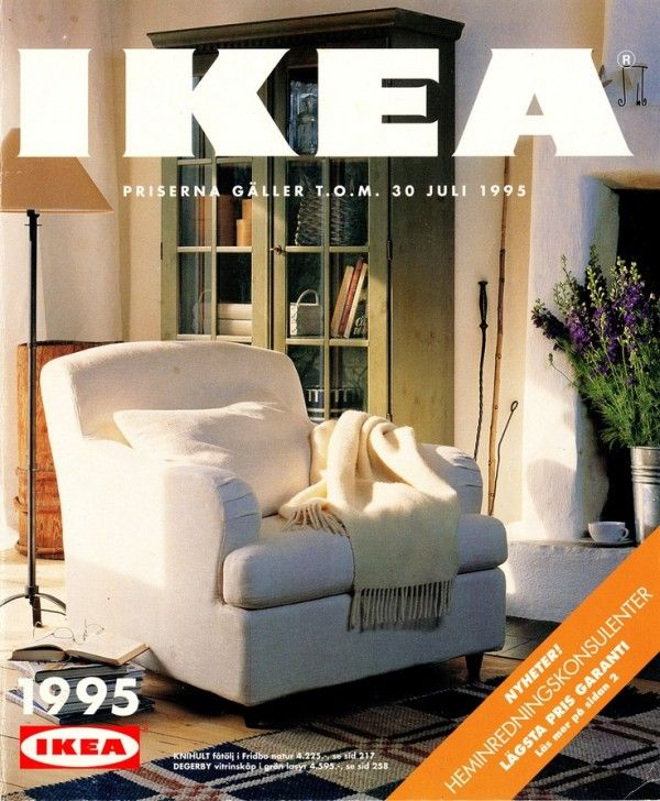 Ikea Catalog Covers From 1951 2017