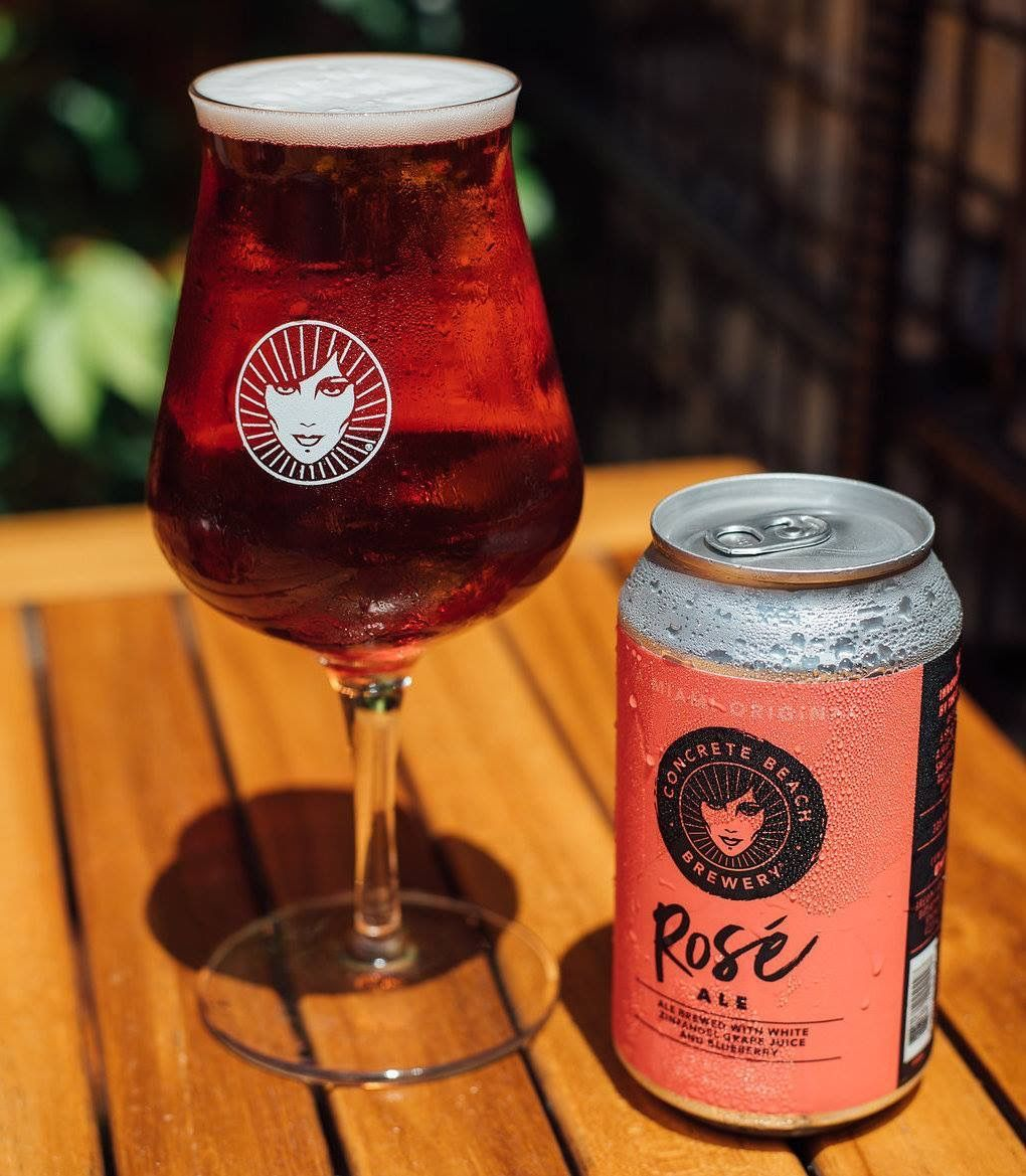 Homebrewing Bar Homebrewing Rose Ale By Concrete Beach Brewery Miami Fl Craftbeer Beer Food Pairings Cooki In 2020 Craft Brewing Home Brewing Real Food Recipes
