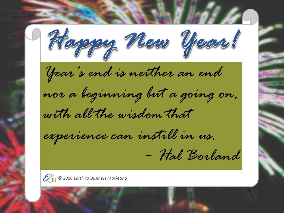 Happy New Year! It's time to reflect on your accomplishments