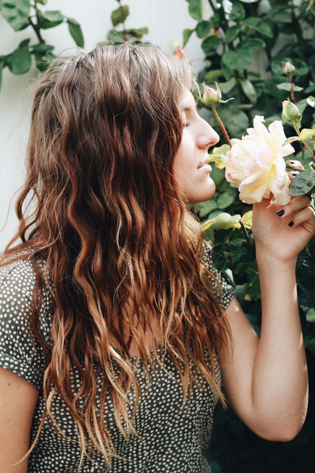 How to get wavy goddess hair in less than 20 minutes