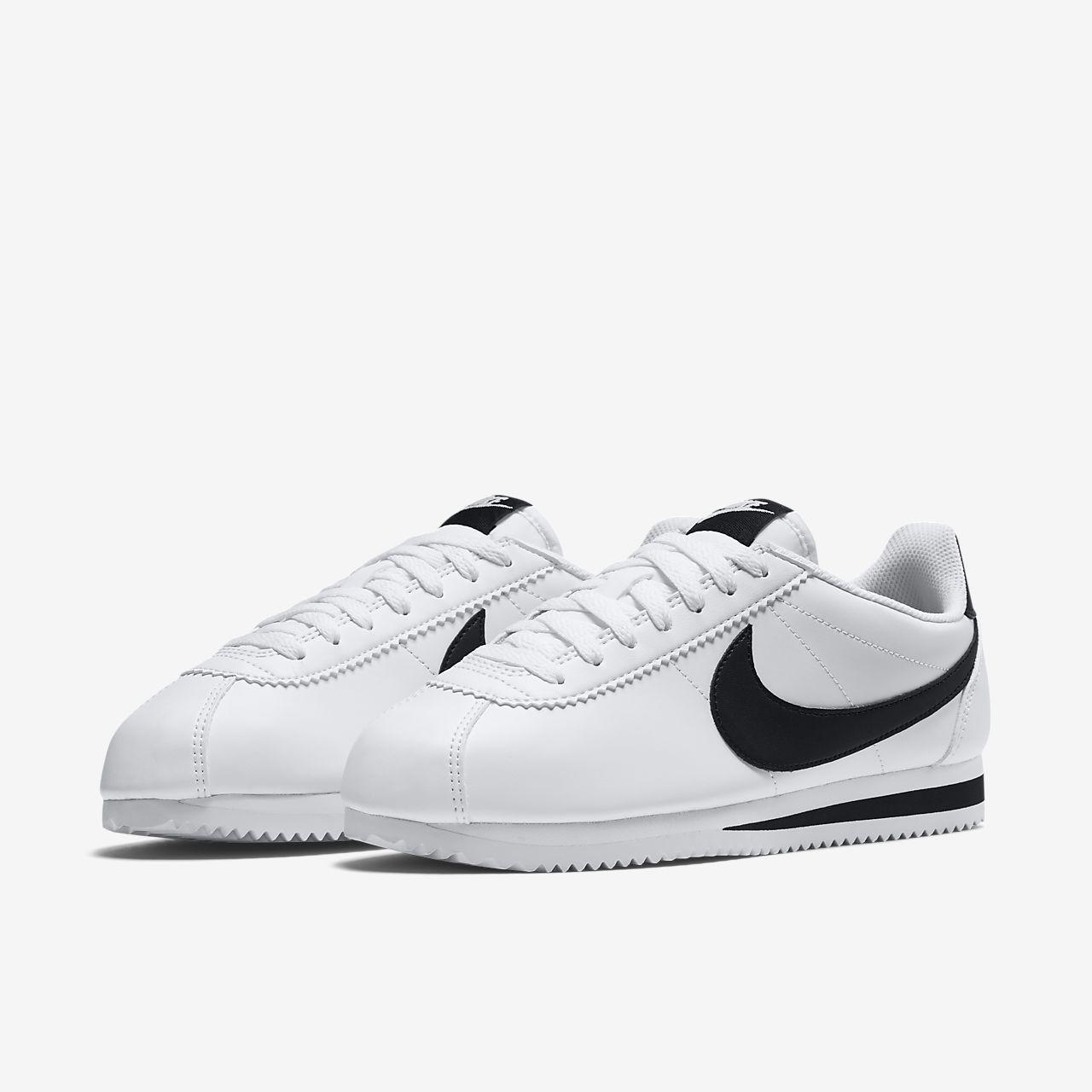 nike classic cortez womens tennis shoes