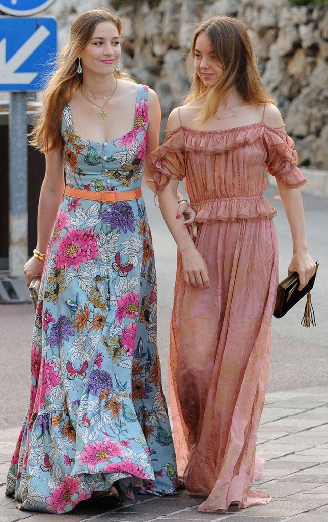 4abd4cf260ae Beatrice Borromeo and Princess Alexandra of Hannover arrive for the ...