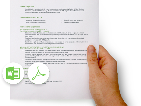 example resume image Resume builder, Free resume builder