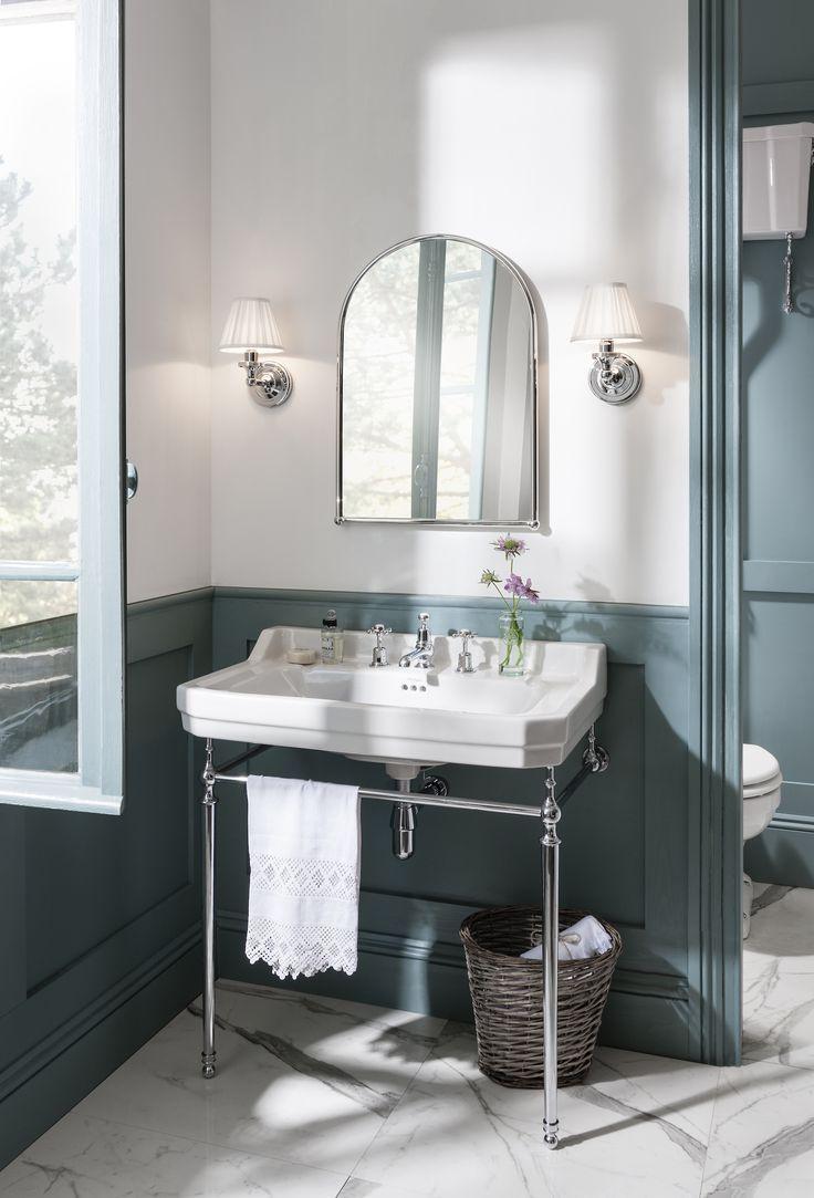 Bathroom Burlington Ideas blue trend. period bathroom with a luxury freestanding bath from