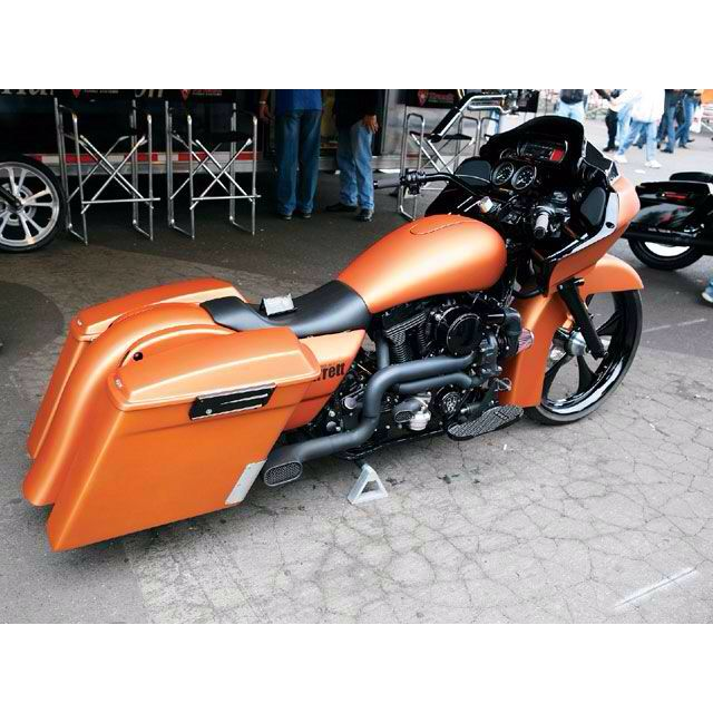 Harley Davidson With Turbo: Harley Road Glide, Motorcycle