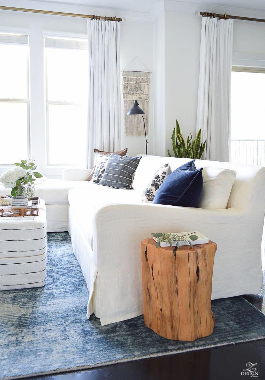 Fresh Ideas For Fall Home Tour | Fall living room, Room decor and ...