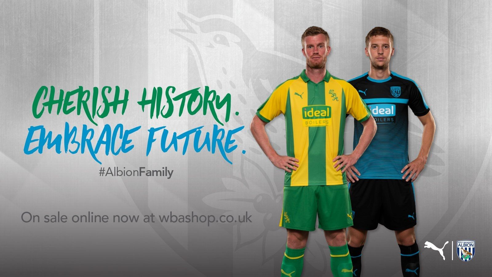 West Bromwich Albion 2018 2019 Away Black And Blue And Third Yellow And Green Kits Sports Jersey West Bromwich West Bromwich Albion