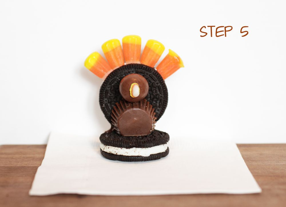Oreo Turkeys via Lilyshop Blog by Jessie Jane
