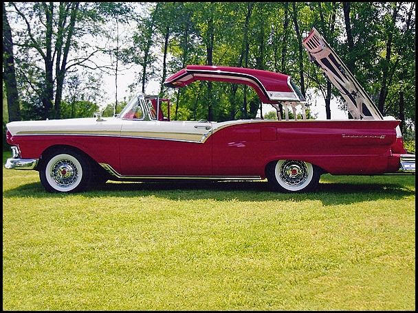 1957 Ford Fairlane 500 Skyliner Hardtop Convertible 1951 to 1959