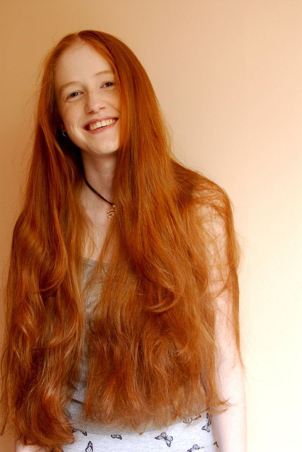 I love ginger hair