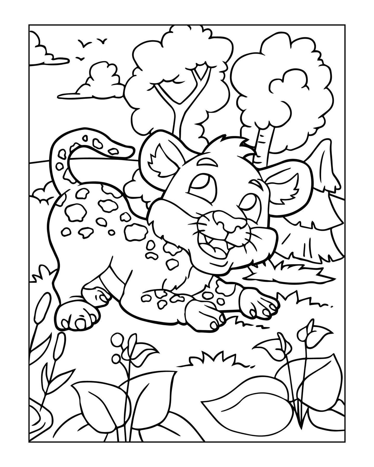 Zoo Animal Coloring Page 15 Zoo Animal Coloring Pages Animal Coloring Pages Coloring Pages