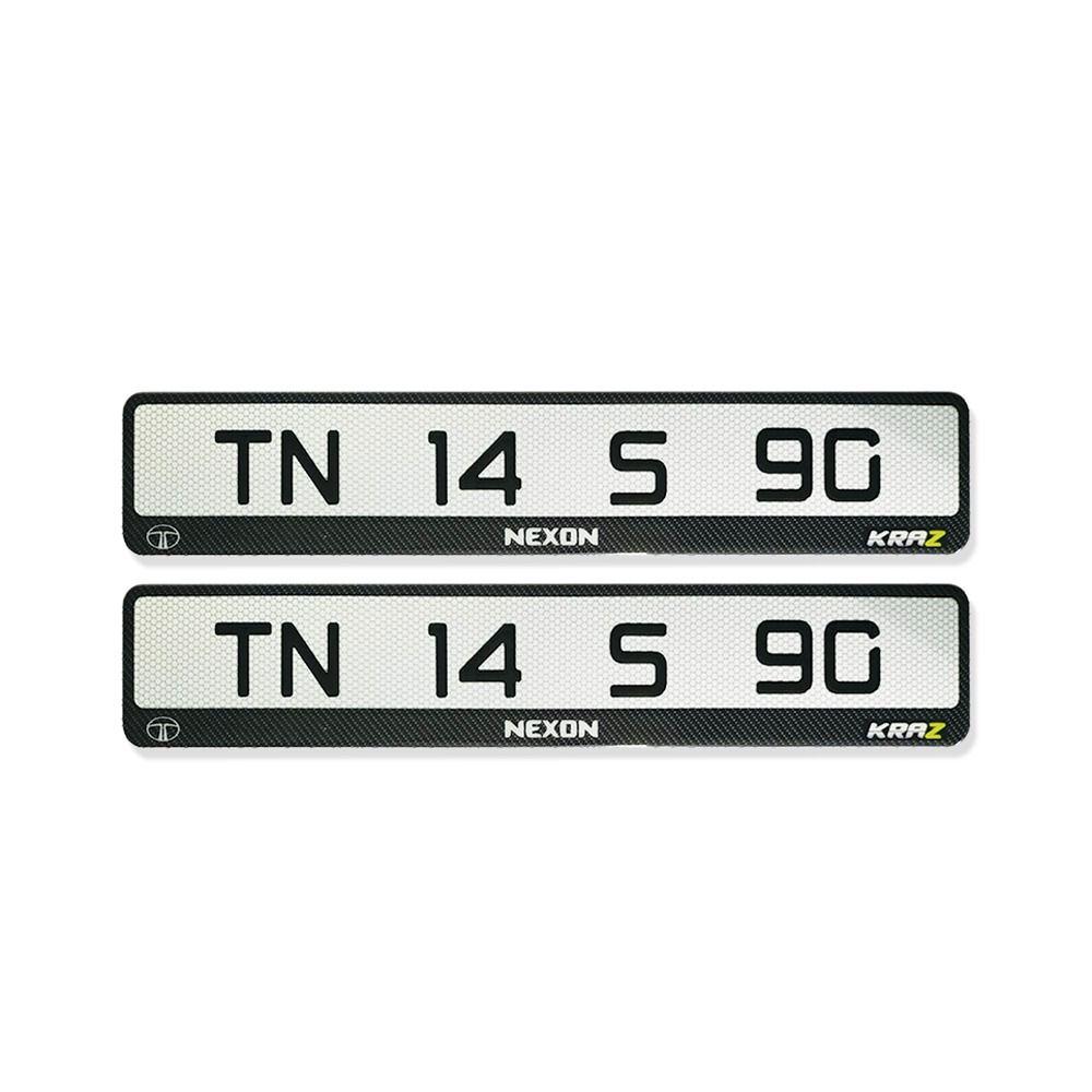Gel Number Plate Number Plate Car Number Plates Plates