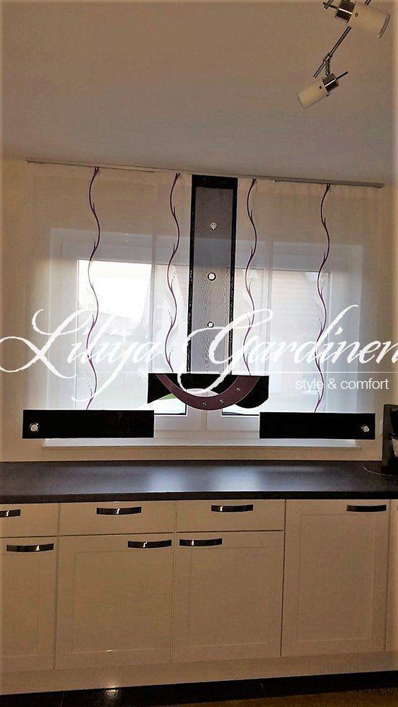 Küche \ Bad « Gardinen Liliya wnętrza Pinterest Kitchens - gardinen für badezimmer