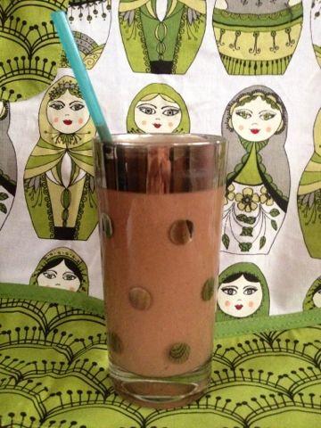 Bittersweet Chocolate Shake