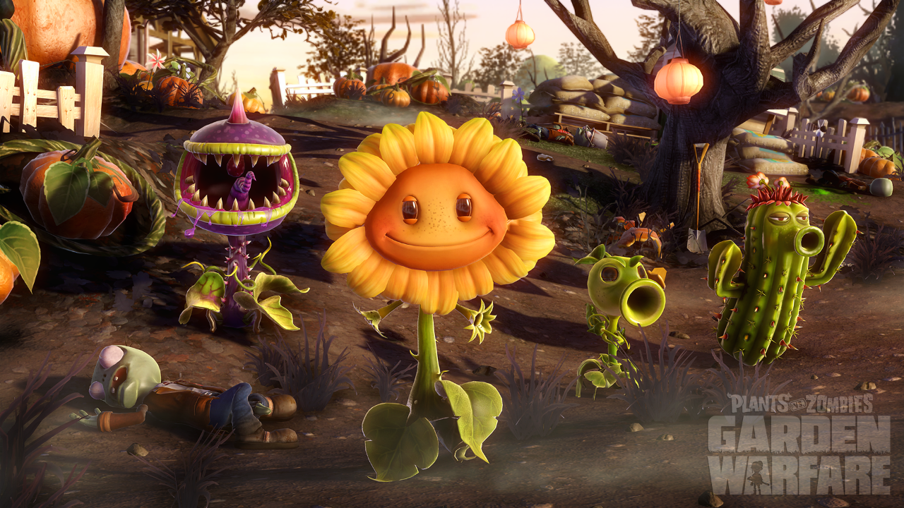 Plants Vs Zombies Garden Warfare Now On Pc Zombies Juegos