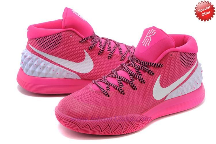 Nike Kyrie 1 705277-600 Pink/White Mens For Sale Online