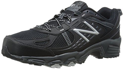 3dfae17116 nice New Balance Men's MT410V4 Trail Shoe, Black/Silver, 8.5 D US ...