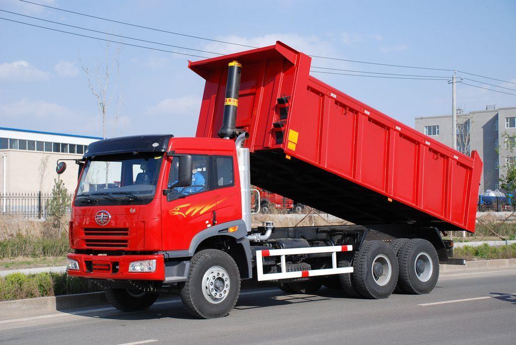 FAW Dump truck 6x4 Dump trucks, Trucks, Vehicles