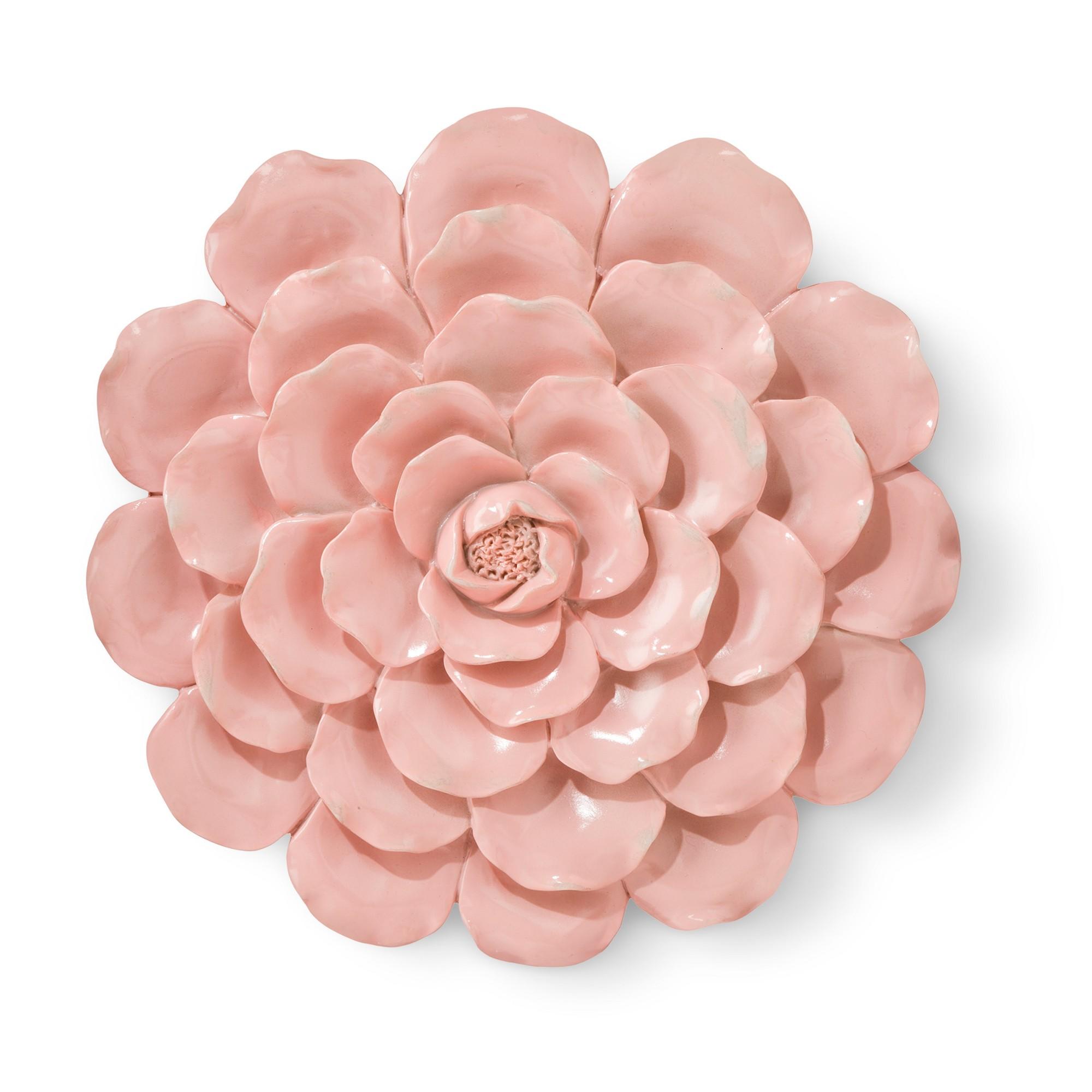 Pink Flower Wall Décor - Pillowfort   Flower wall decor, Flower wall, Pink flowers