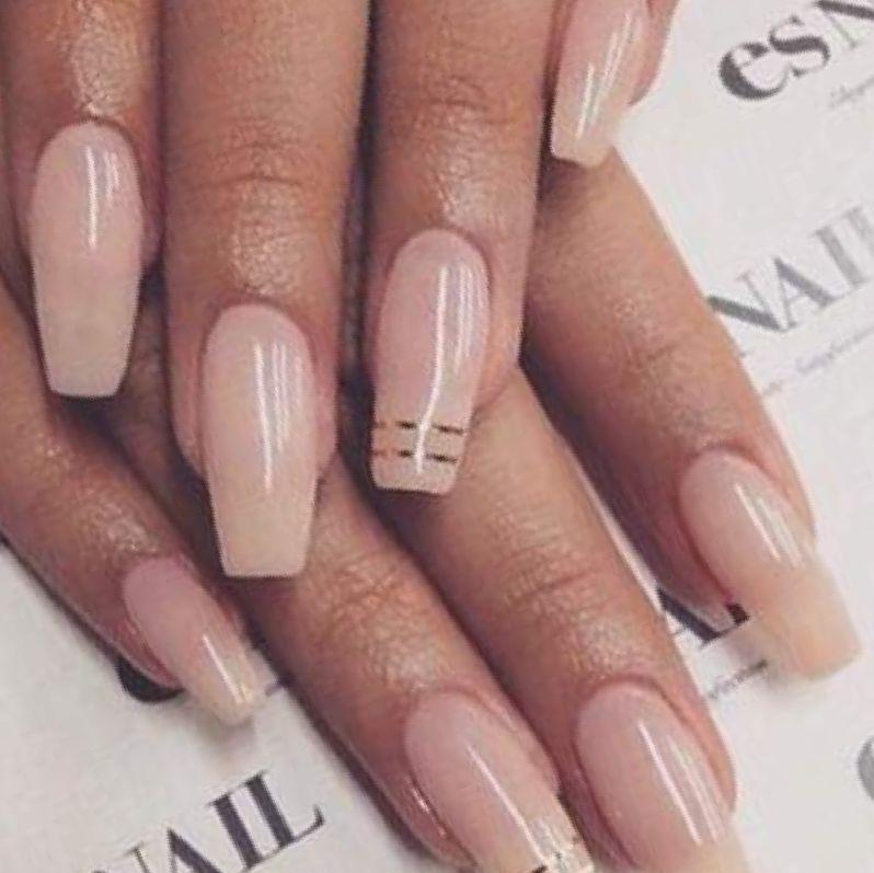 Neutral Acrylic Nails Pink Nail Art Trends Cute Design Color Fake Neutral Nail Designs Neutral Nails Acrylic Pink Nail Art