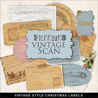 Freebies Vintage Christmas Labels Christmas Labels Free Christmas Printables Vintage Christmas
