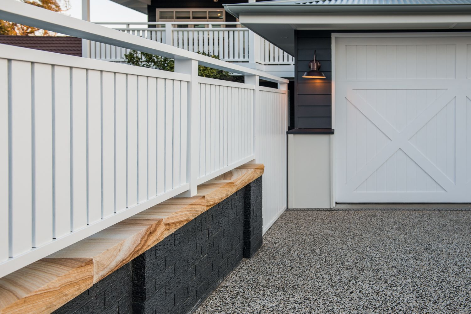 New double garage at the front of property. | Home | Pinterest ...