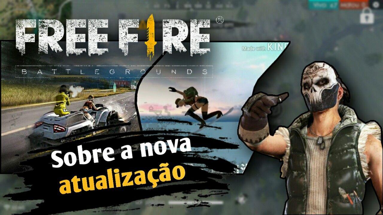 Garena Free Fire Nova Atualizacao Cumpleanos Pinterest
