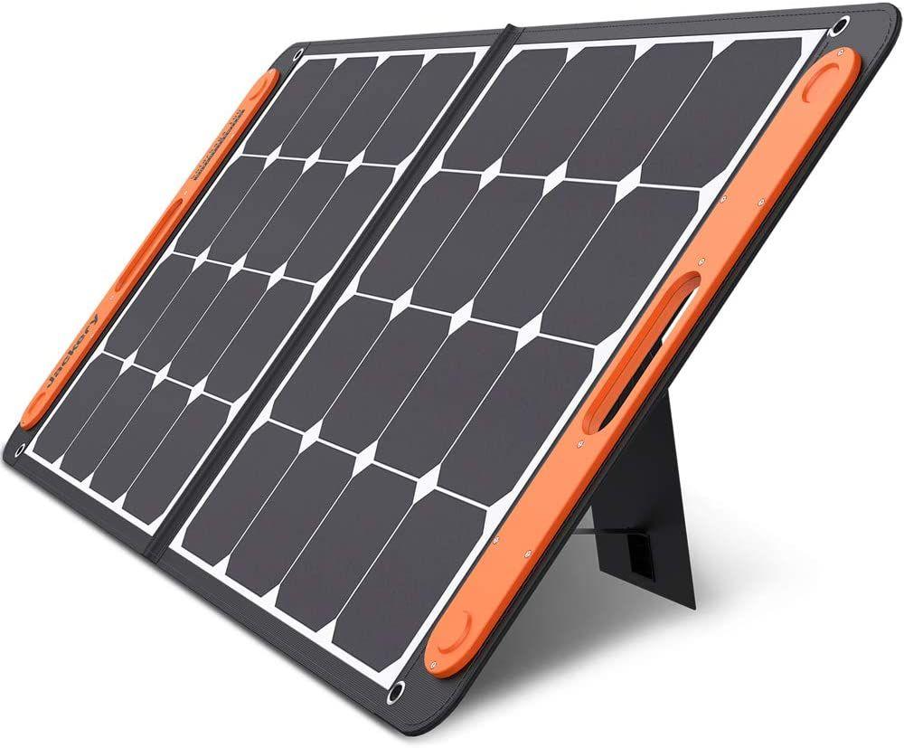 Jackery Solarsaga 100w Portable Solar Panel For Explorer 160 240 500 1000 Power Station In 2020 Portable Solar Panels Solar Panel Charger Solar Panels