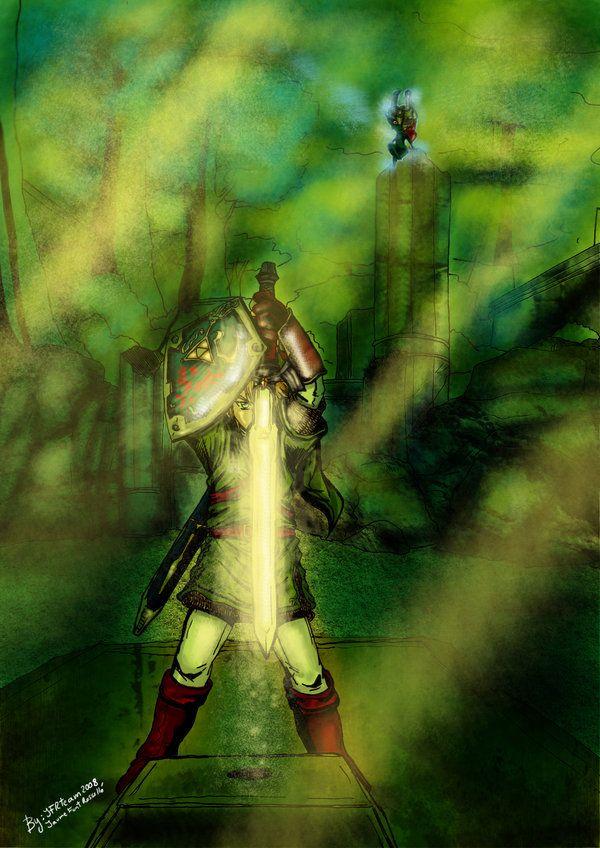 Twilight Princess Master Sword by ~JFRteam