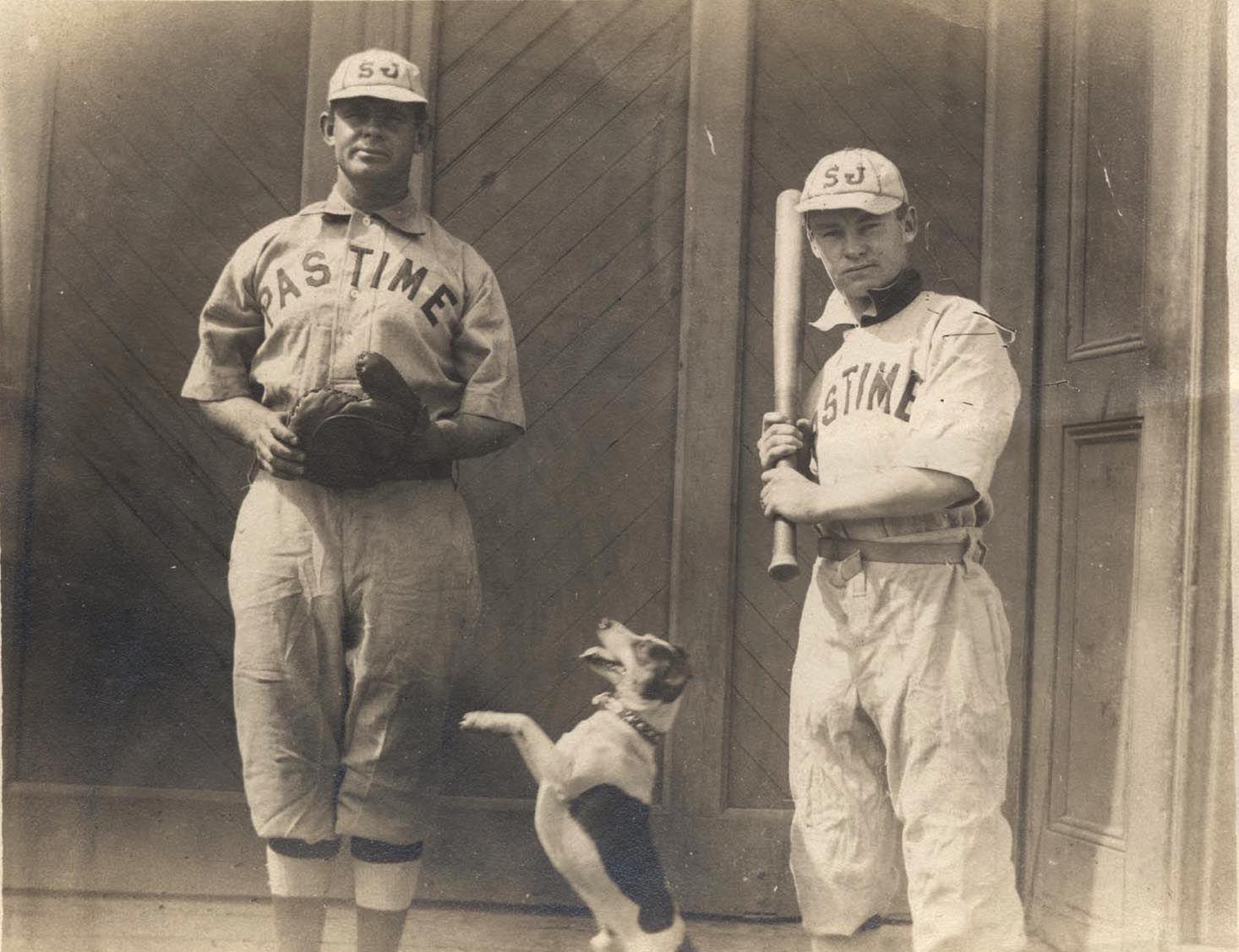 Reginald Dauner Left With His Dog Who Fetched The Balls Dauner