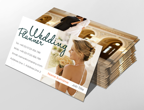 Classic Business Card Design Ideal For Wedding Planners And Large