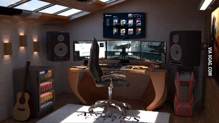 Dream Room As A Gamer Gaming Room Setup Gamer Bedroom Game Room Layout
