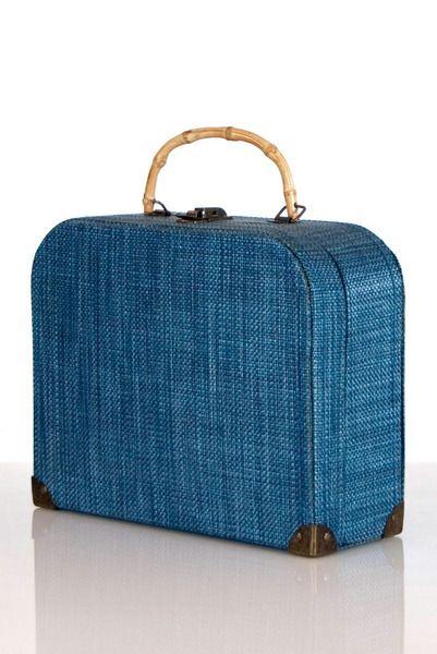vintage suitcase purse