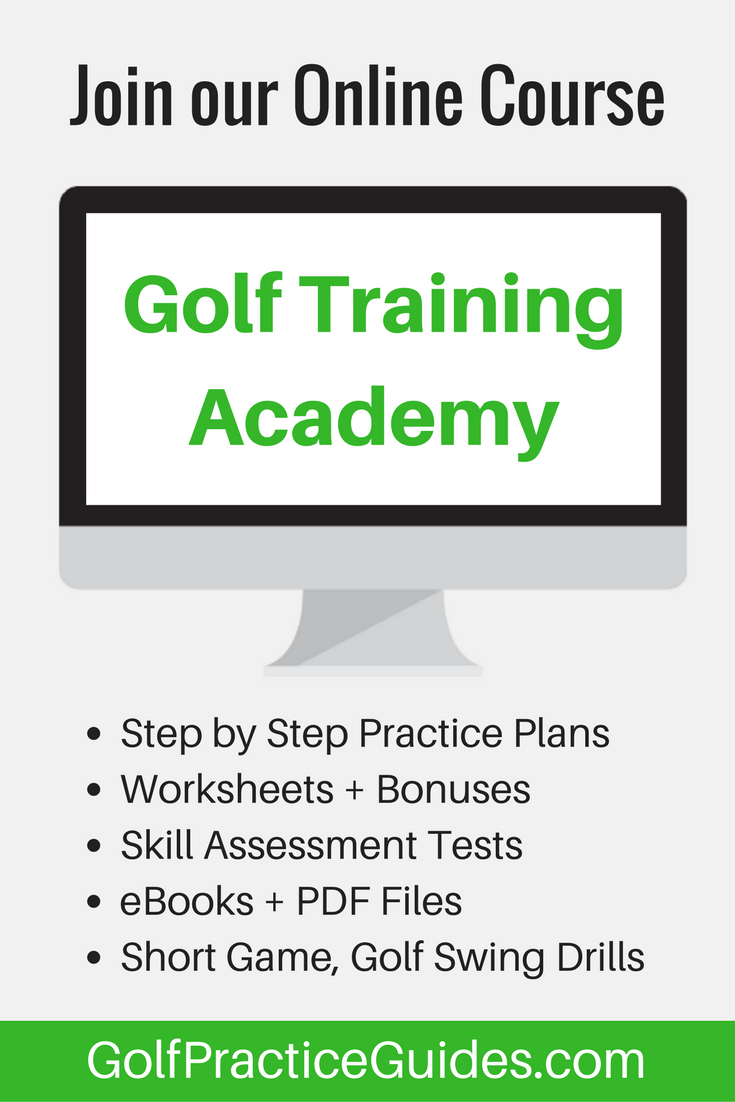 easy to follow step by step golf practice drills practice plans