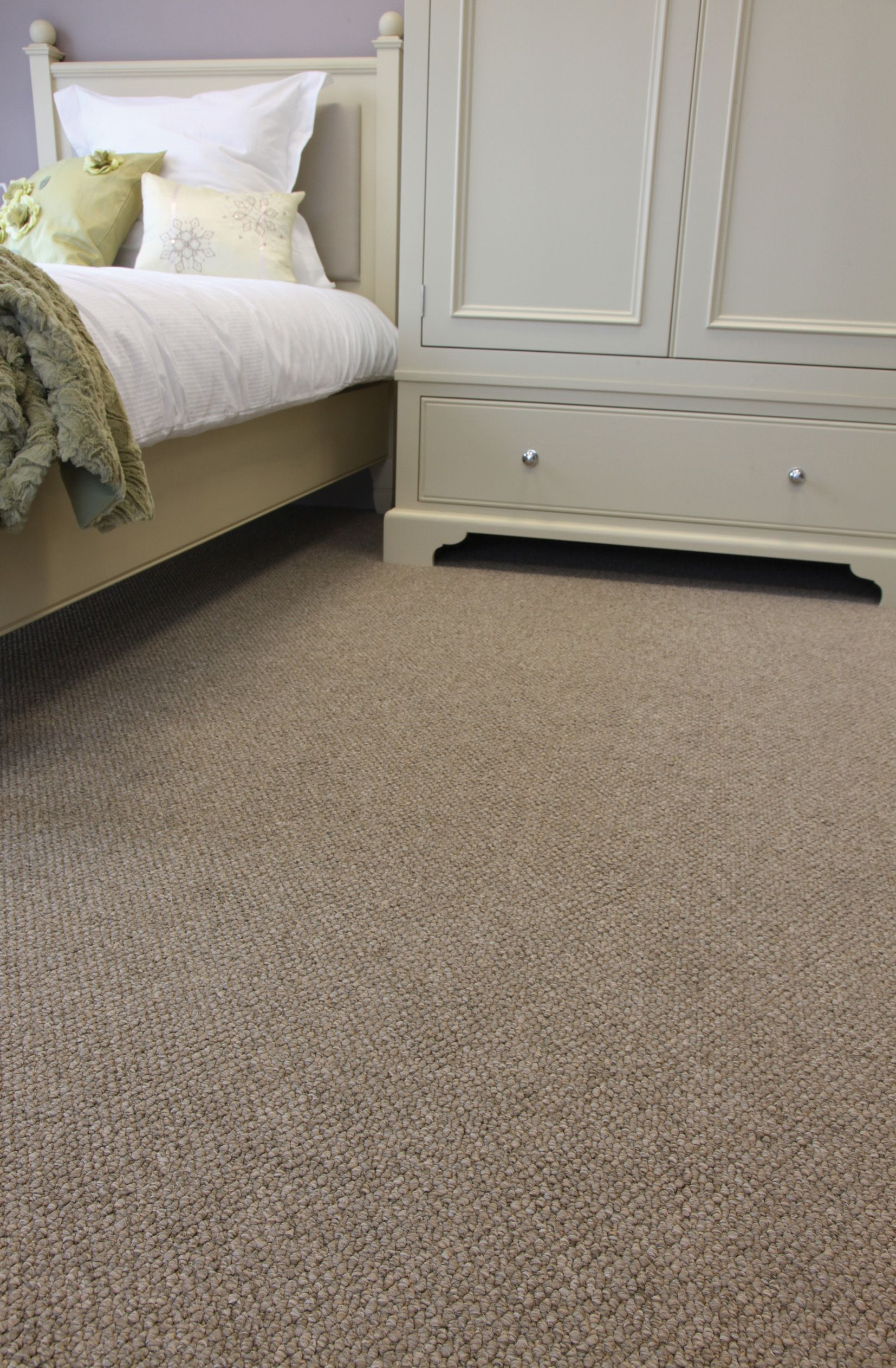 Cosy bedroom carpet by Hardy Carpets  What we do