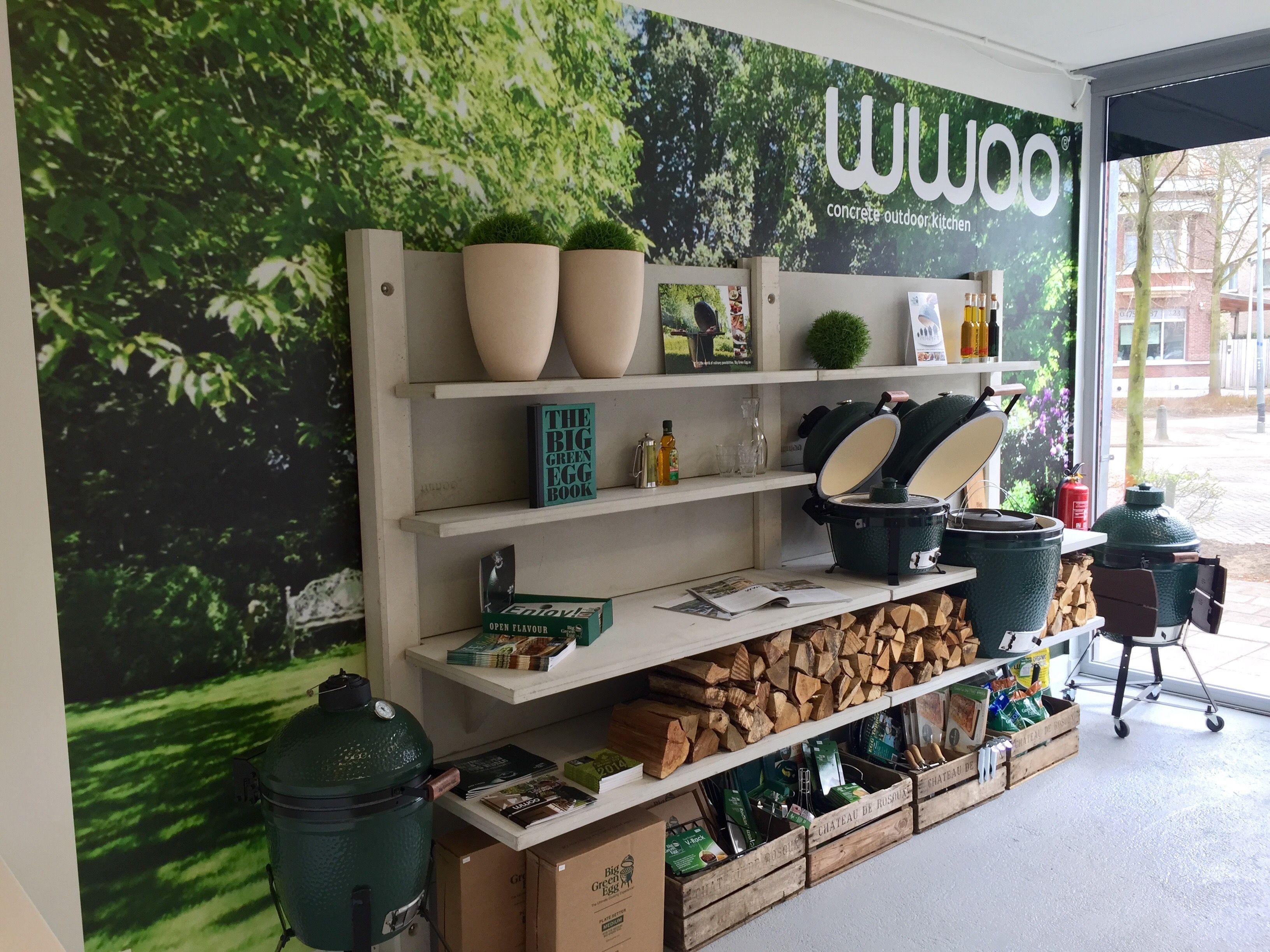 Wwoo concrete outdoor kitchen retail and restaurant designs for