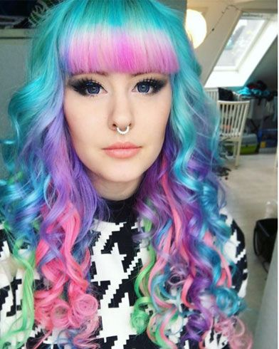 Get yourself some pastel rainbow hair to match your vibrant get yourself some pastel rainbow hair to match your vibrant personality solutioingenieria Images