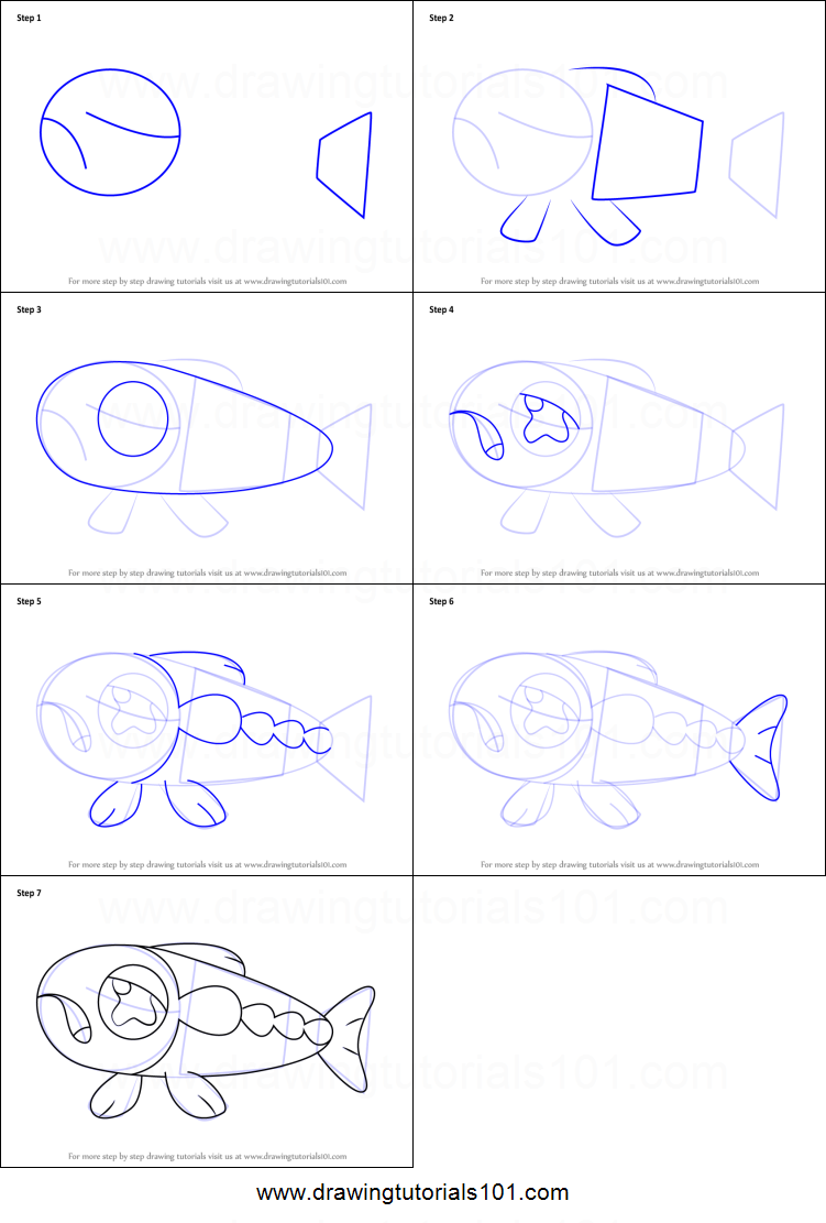 How To Draw Wishiwashi Solo Form From Pokemon Sun And Moon Printable Step By Step Drawing Sheet Drawingtutorials Drawing Sheet Pokemon Coloring Pages Pokemon
