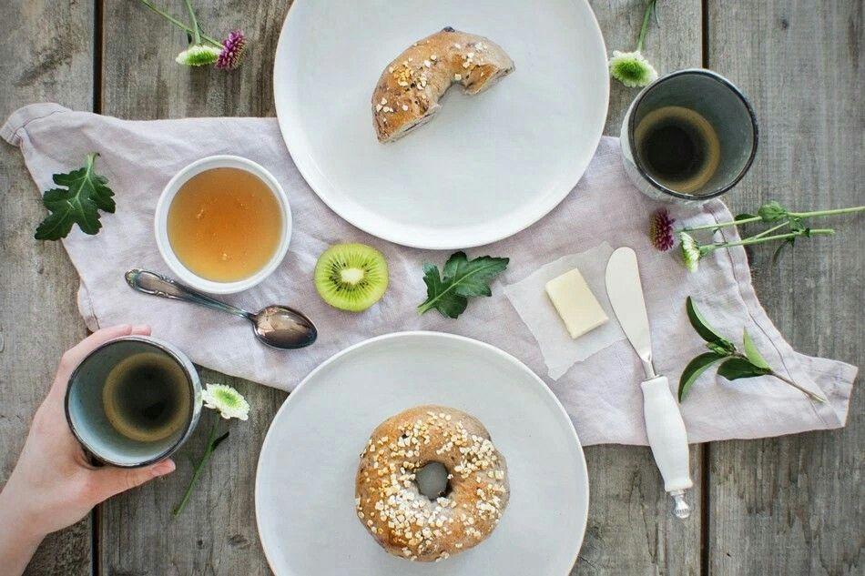 Heidelbeerbsgel zum Frühstücl