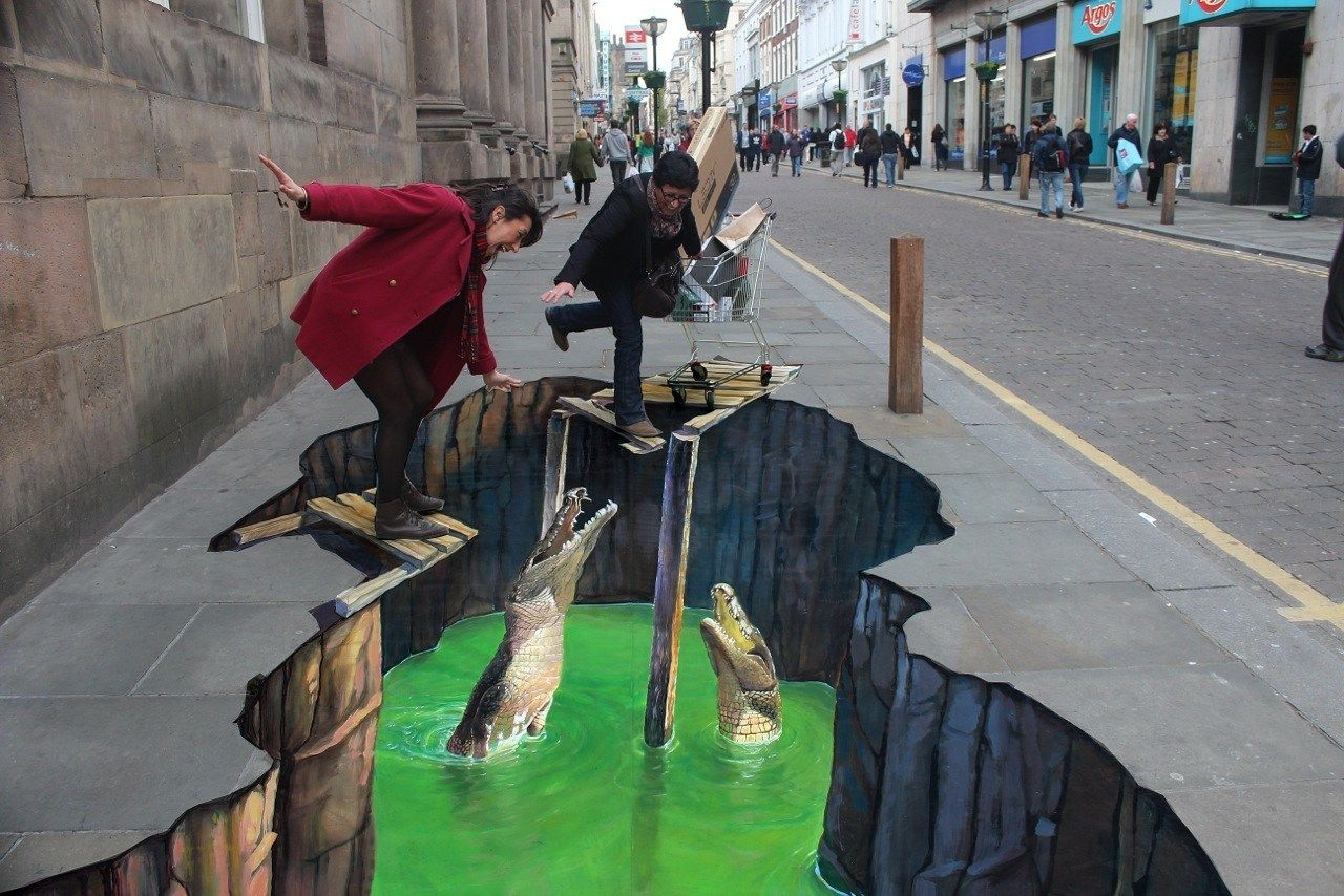 Amazing 3D Street Art That Will Blow Your Mind | 3d street art ...