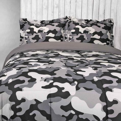 Black White And Grey Camo Bedding Camo Rooms Camo Bedroom Camo Bedding