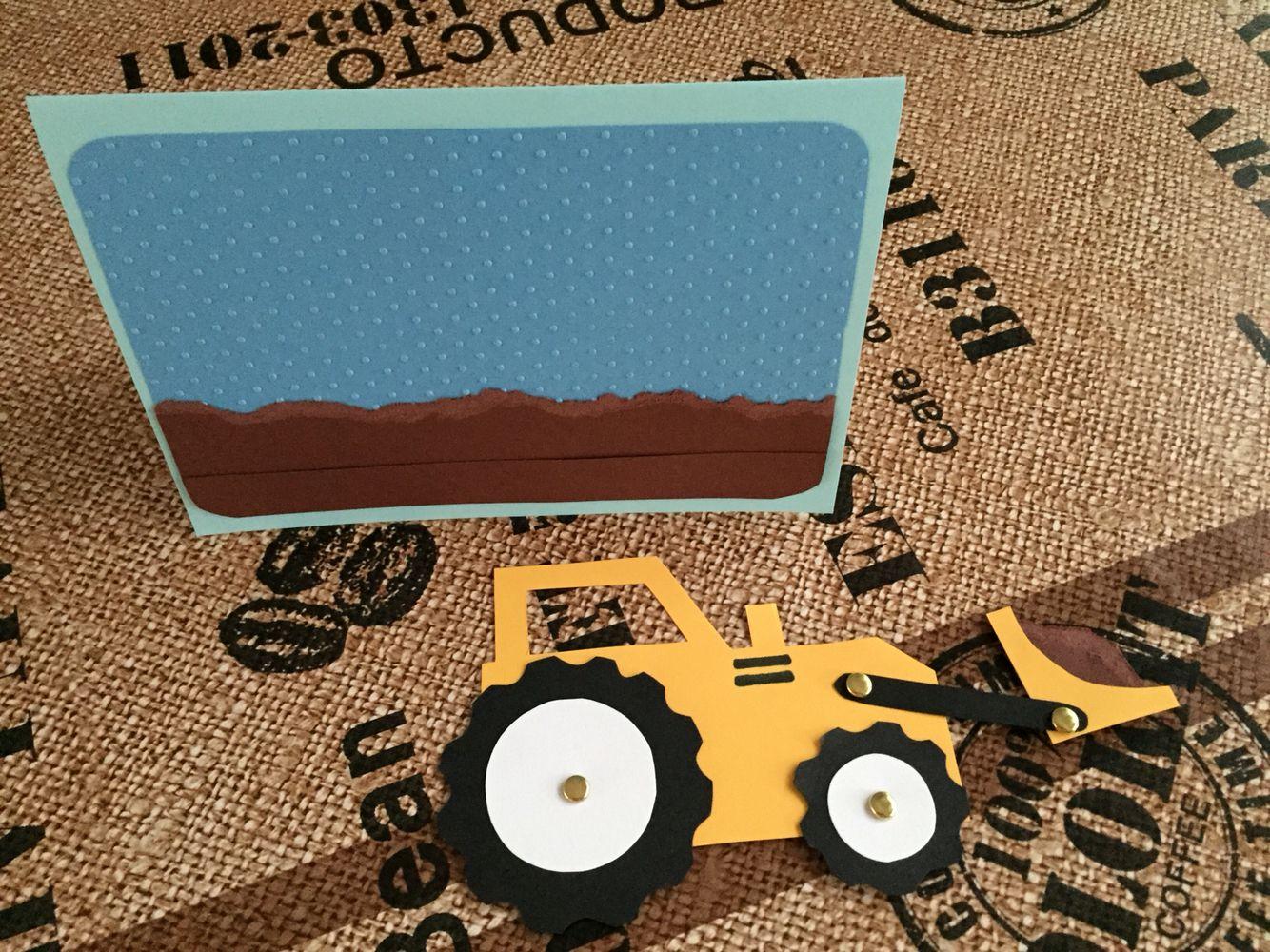 Schön #Bagger #Einladung #Kindergeburtstag: Due To Canu0027t Buy These Invitation  Cards