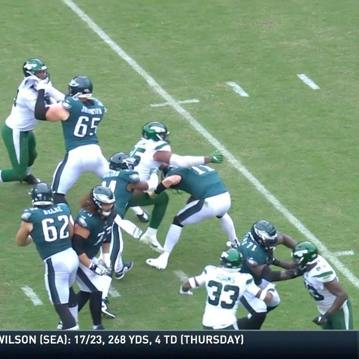 NFL Wentz now has a disappearing act. NYJvsPHI FOX