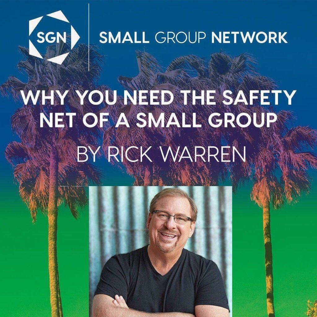 New blog post from Rick Warren. Great stuff! #SGNET # ...
