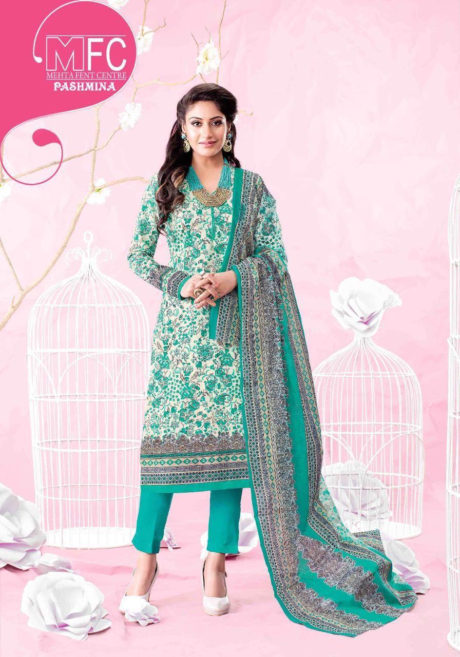 2cfefb4a18 MFC Pashmina vol-2 Cotton Dress material (12 pc catalog) | daily ...