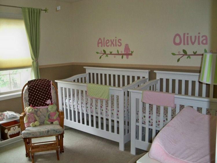 Décoration chambre bébé fille: 99 idées, photos et astuces | Pinterest
