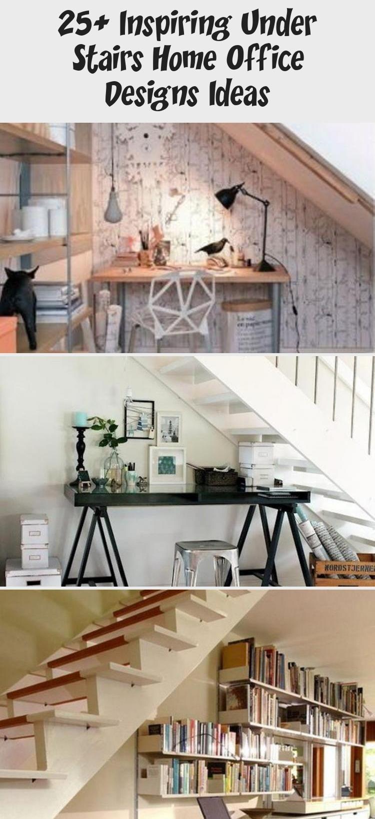 25 Inspiring Under Stairs Home Office Designs Ideas  Bilgi Tahtası
