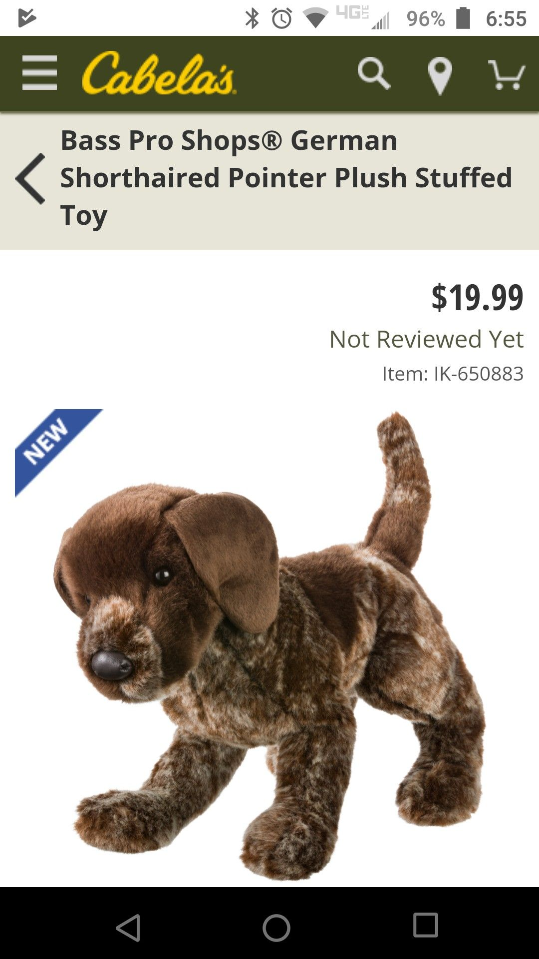 German Shorthair Stuffed Animal For Everett And Ivan