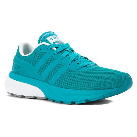Adidas Cloudfoam Flow Sneaker | Women's - Shock Green/White