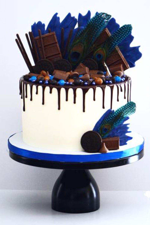 12 Inch Round Modern Metal Wedding Cake Stand Black Drip Cakes Chocolate Drip Cake Cake